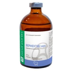 противопаразитарный препарат Вермектин зеро